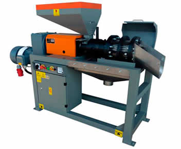 KK100 F Universal Seed Oil Press With A Seed capacity of 100 kg/h.
