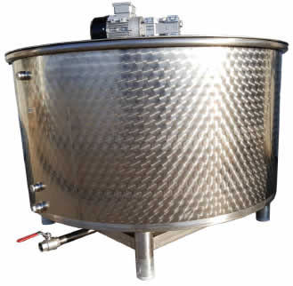 Seed Oil Pumping Tanks - Crude Oil Tanks with Agitator